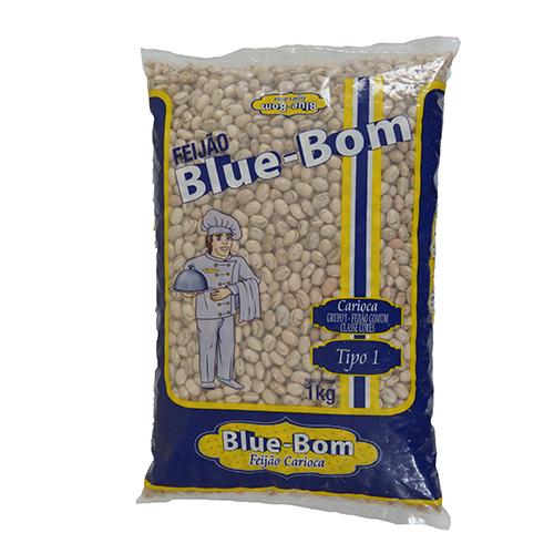 Feijão Blue Bom Carioca 1kg