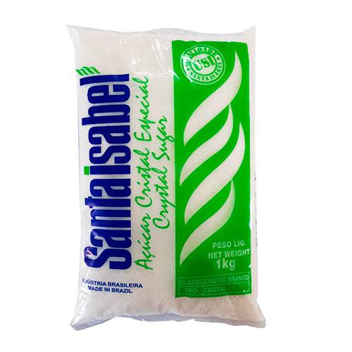 Açúcar Cristal Sta Isabel 1kg