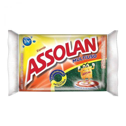 Esponja Sintética Multi-uso Assolan