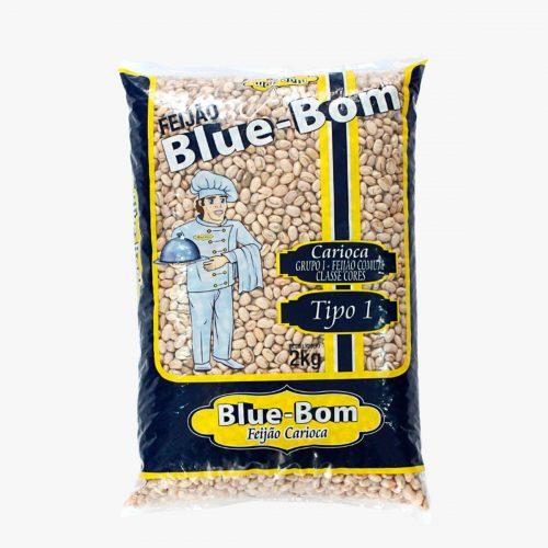 Feijão Blue Bom Carioca 2kg